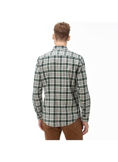 Lacoste Erkek Slim Fit Gömlek CH2021.21Y Yeşil